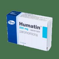 Купить Хуматин Паромомицин капс, 250мг №16, Pfizer Italia Srl