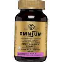Омниум Солгар (Omnium Solgar) таблетки N90 фото