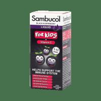 Купить Самбукол сироп (черная бузина для детей) 120мл, Sambucol (США)
