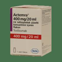 Актемра (Тоцилизумаб) 400 мг для ин. 20мг/мл фл. 20 мл №1