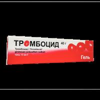 Тромбоцид (Thrombocid) гель 40г фото