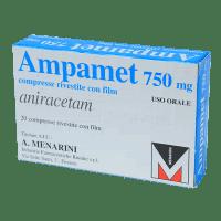 Ампамет Анирацетам табл. 750мг №20 фото
