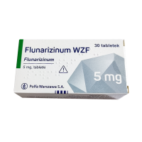 Купить Флунаризин таб, 5мг №30, Polfa Warszawa, Польша