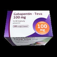 Габапентин Тева 100 мг капс. №100 фото