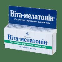 Купить Вита-мелатонин таб, N30, Киевский Витаминный Завод, Украина