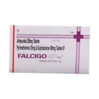 Фансидар (Fansidar) Falcigo-SP 1 набор (Пириметамин Сульфадоксин 3 табл. Артесунат 3 табл.) фото