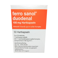 Купить Ферро Санол (Ferro Sanol) капс. №50 (50шт/уп), UCB Pharma GmbH, (Германия)