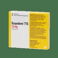 Скоподерм (Scopoderm, Скополамин) TTS 1,5мг пл. 2шт фото