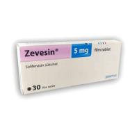 Зевесин (Солифенацин) таблетки 5мг №30 фото