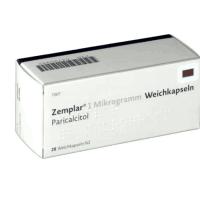 Земплар (Парикальцитол) капсулы 1 мкг №28 фото
