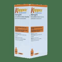 Купить Кеппра Леветирацетам раствор для приема внутрь 100 мг/мл 300мл, UCB Pharma GmbH