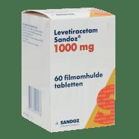 Леветирацетам таблетки 1000мг №60 (60 табл./уп) фото