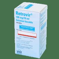 Ретровир сироп для новорожденных 100мг/10мл фл. 200мл