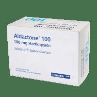 Альдактон Cпиронолактон 100мг №100 100 капсул фото
