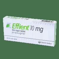 Купить Эффиент Прасугрель таблетки 10мг №28, Eli Lilly Nederland BV