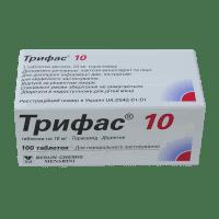 Трифас таблетки 10мг N100 фото
