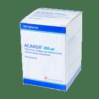 Асакол таб. 400 мг №100