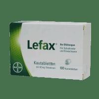 Лефакс таблетки №100