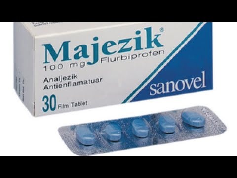 Видео о препарате Мажезик-Сановель (Флугалин, Majezik) таблетки 100мг №30