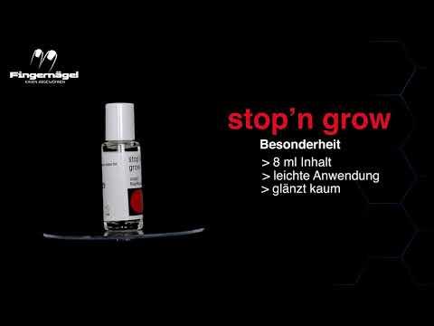 Видео о препарате Стоп н Гроу (Stop N Grow) лак для того чтобы перестать грызть ногти 8мл