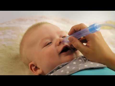 Видео о препарате Аспиратор назальный детский NoseFrida