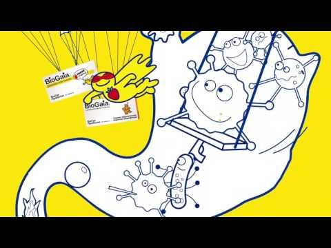 Видео о препарате БиоГая Пробиотик 5мл капли для детей