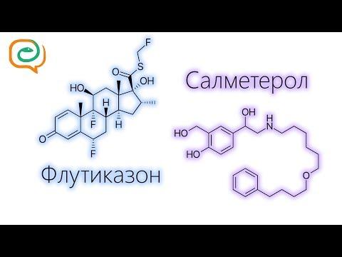 Видео о препарате Серевент Эвохалер аэрозоль 120доз