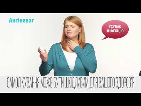 Видео о препарате Ангиноваг спрей 20мл