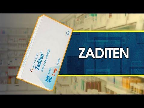 Видео о препарате Задитен Кетотифен таб, 1мг №30