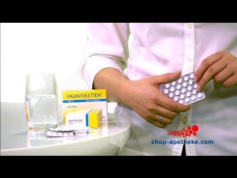 Видео о препарате Вигантолеттен Vigantoletten таб. 500МЕ №30