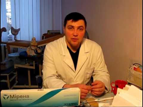 Видео о препарате Мирена внутриматочная система (ВМС) 20мкг/24ч №1