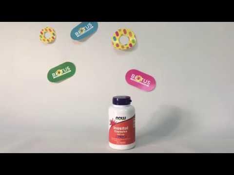 Видео о препарате Инозитол (Мио-Инозитол) капсулы №60