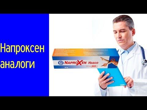 Видео о препарате Напроксен
