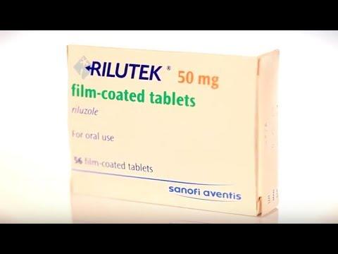 Видео о препарате Рилутек Рилузол таб, 50мг №56