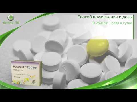 Видео о препарате Ноофен капсулы 250мг N20