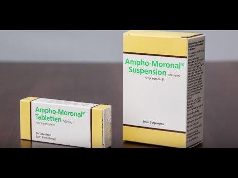 Видео о препарате Амфоморонал Амфо-моронал сусп, 50мл