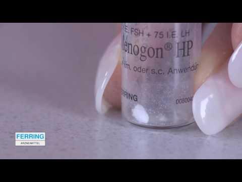 Видео о препарате Меногон (Menogon) порошок лиоф. для инъекций 75МЕ №5